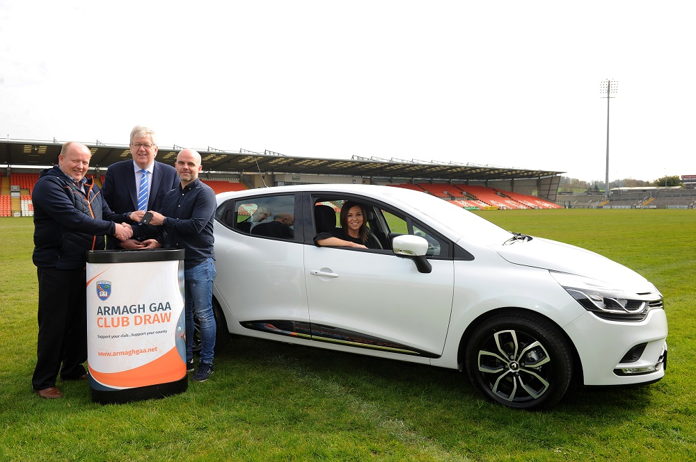 Armagh Club Draw Car winner from Belleeks GAC
