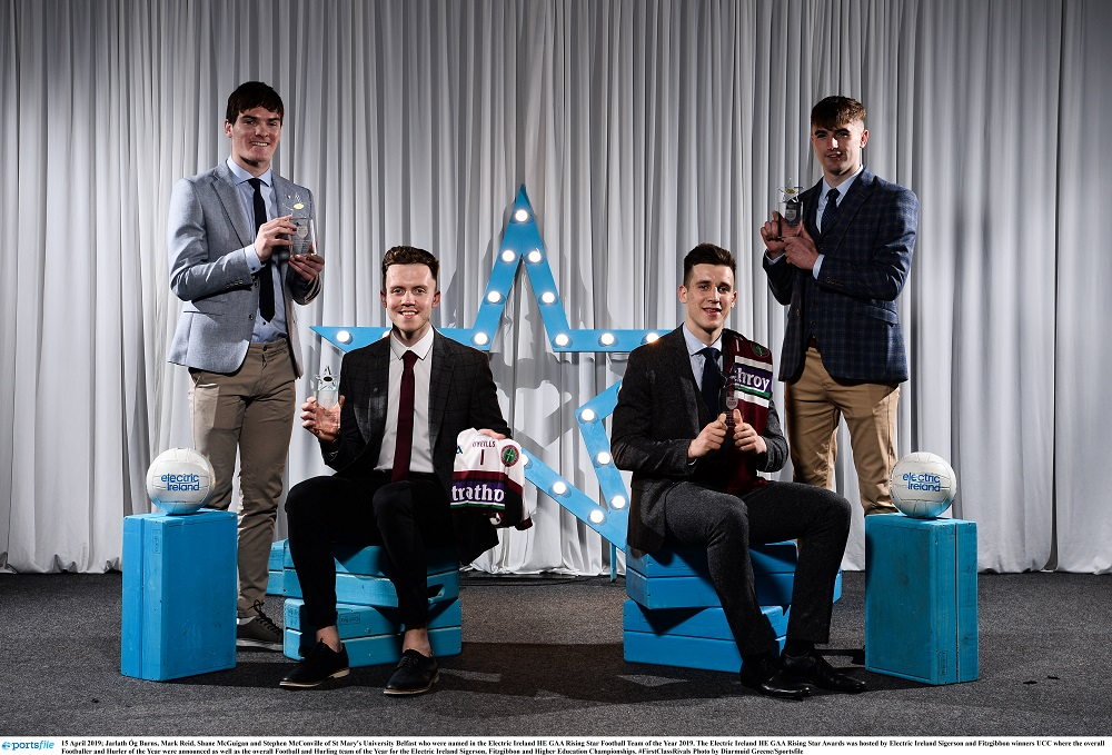 Jarly Og Burns named in Electric Ireland HE Rising Star Awards