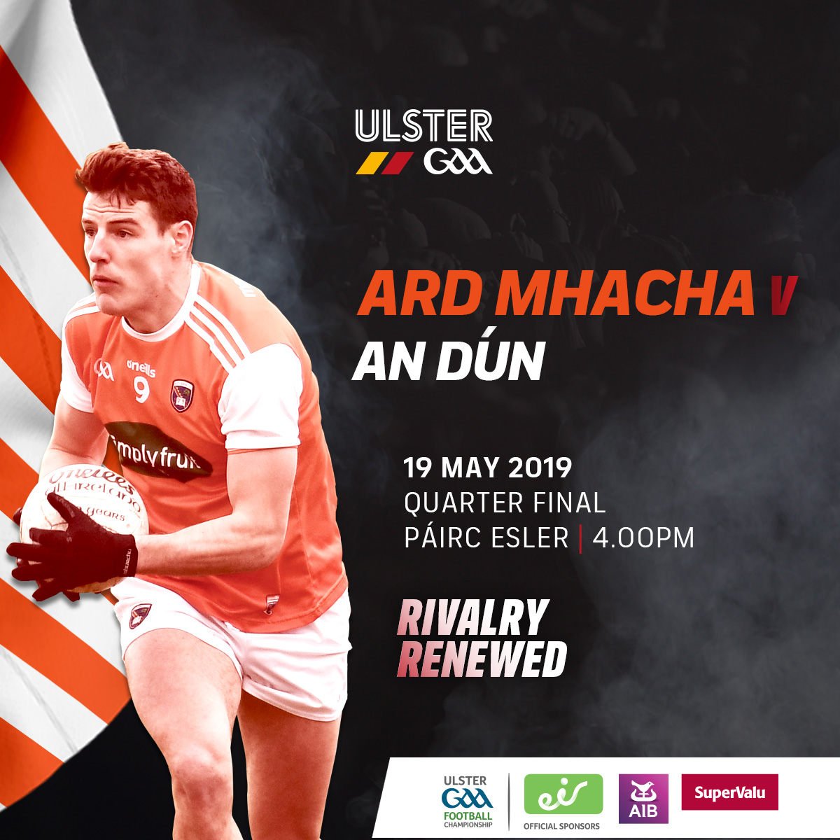 Ticket & Travel Advice: Down v Armagh, Sun 19 May