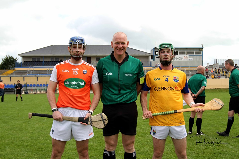 Armagh hurlers through to Nicky Rackard semi-final
