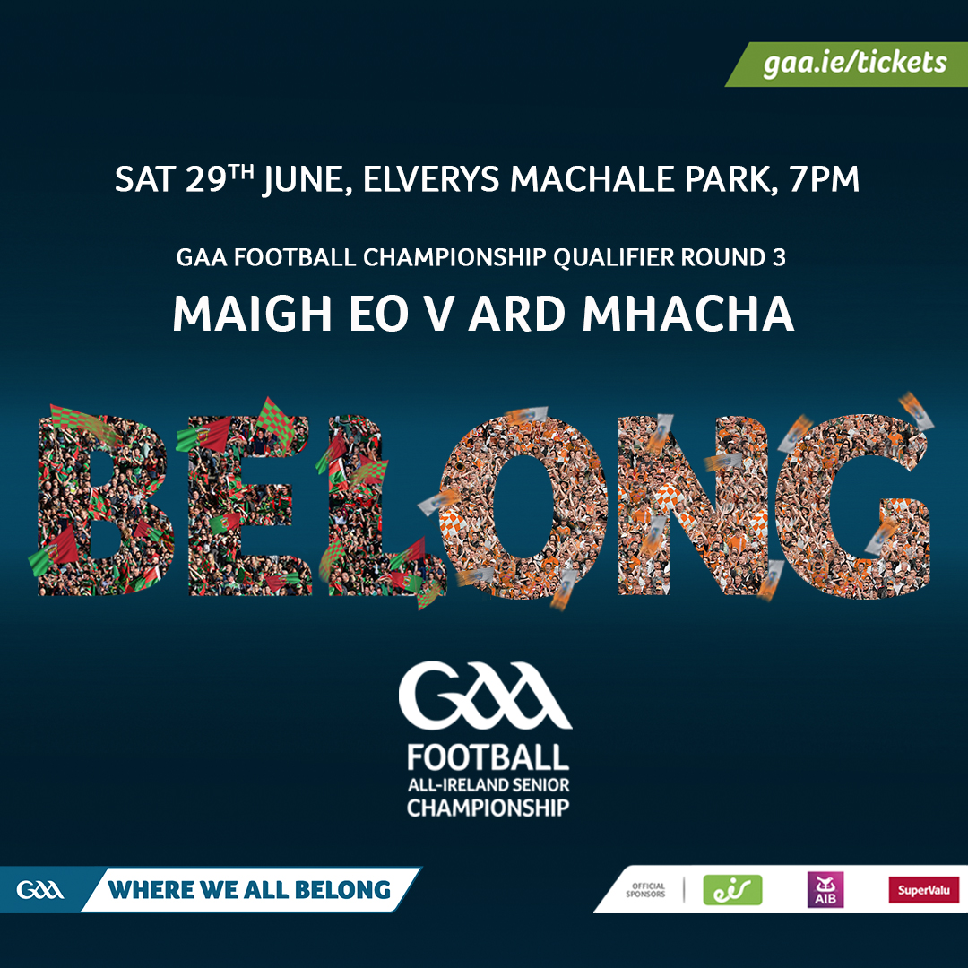 Ticket Info: Mayo v Armagh