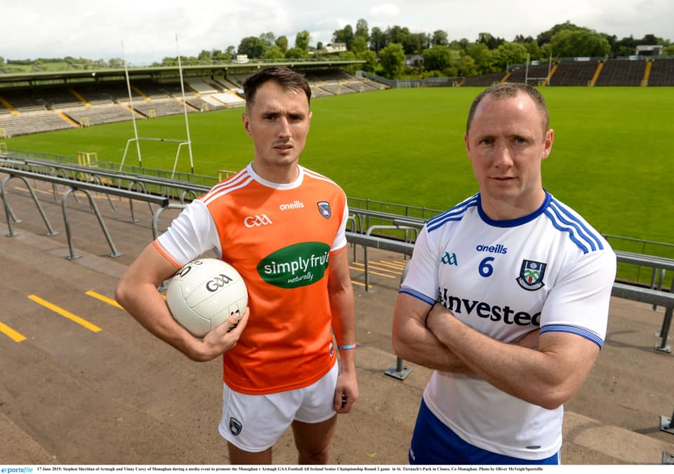 All Ireland Qualifier: Monaghan v Armagh