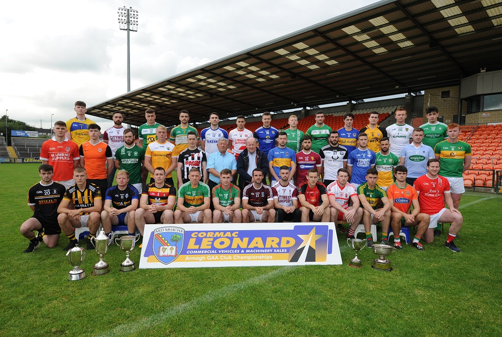 Armagh GAA Club Championships 2019 launched
