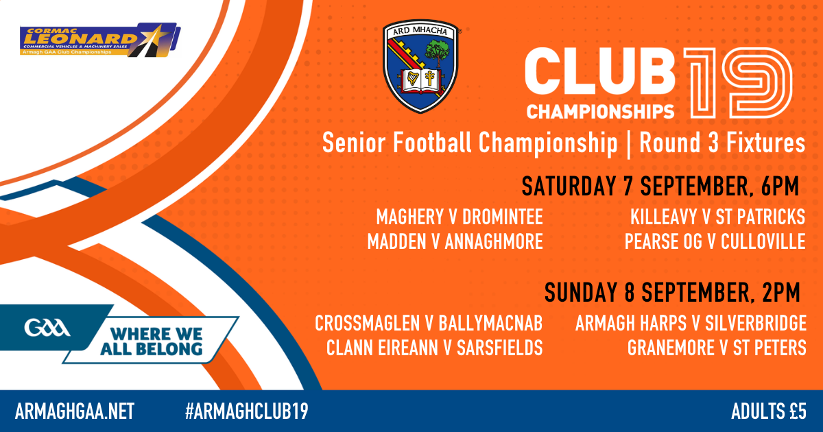 SFC Round 3 fixtures and Group Tables