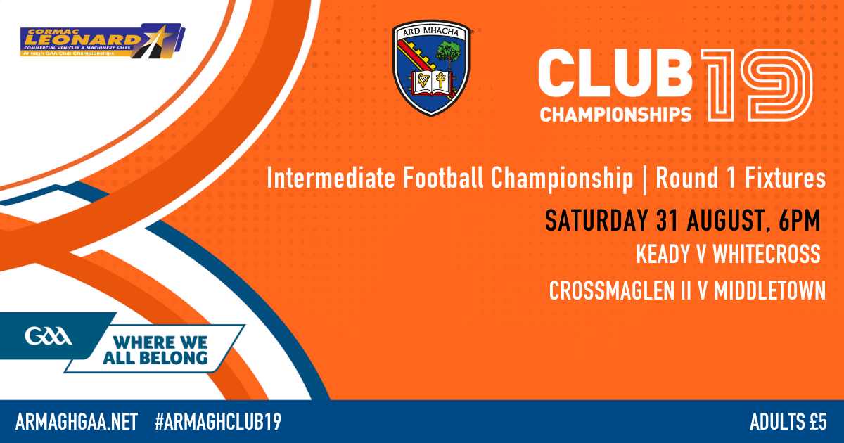 IFC Round 1 fixtures and Group Tables
