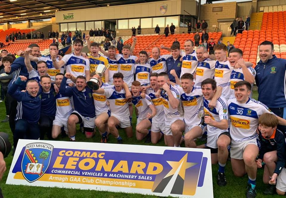 Link to Armagh Junior Football Champions 2019 post
