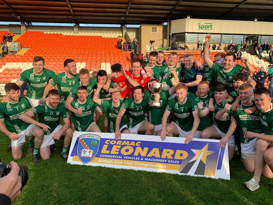 Armagh Intermediate Football Champions 2019
