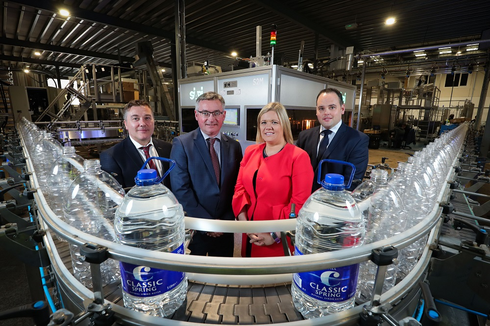 Armagh Underage sponsor Classic Mineral Water Company doubles production capacity