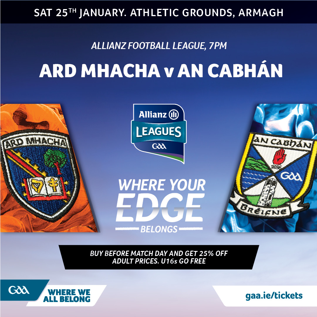 Ticket & Travel Information: Armagh vs Cavan