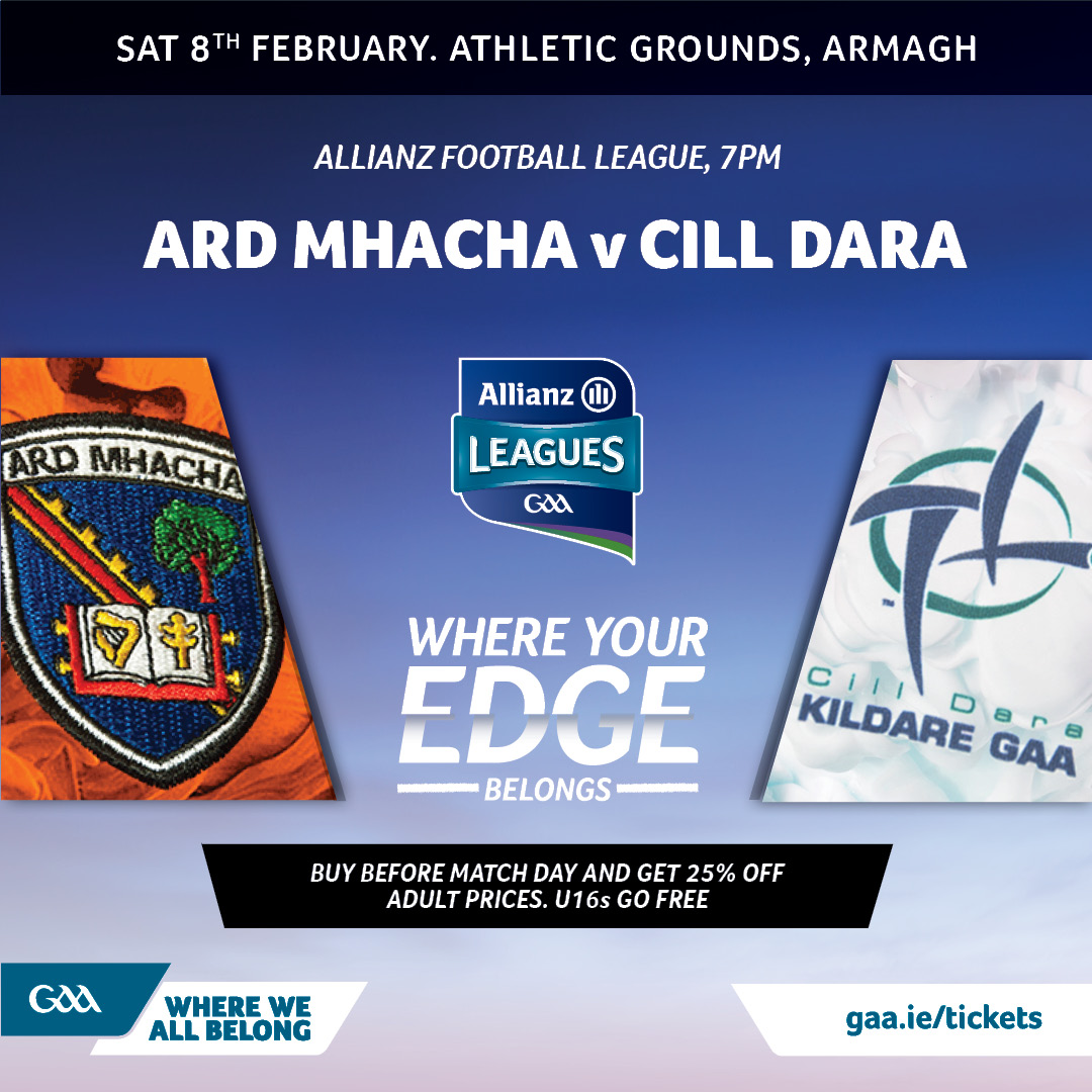 Ticket & Travel Information: Armagh vs Kildare