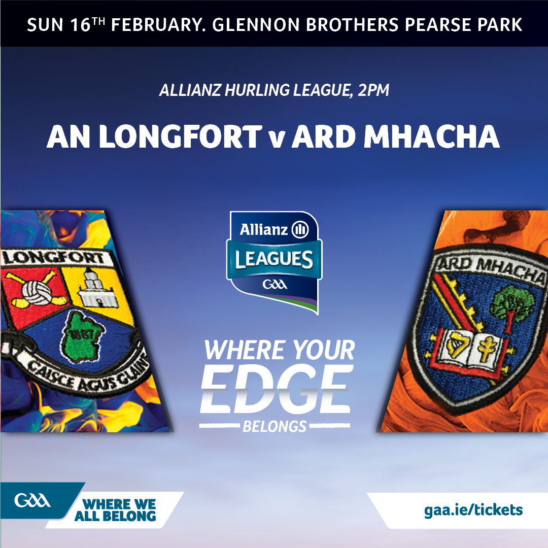 Armagh hurlers hit the road for Longford