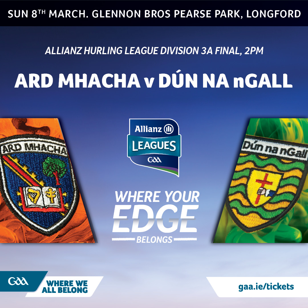 HURLING: Allianz League Final Armagh v Donegal