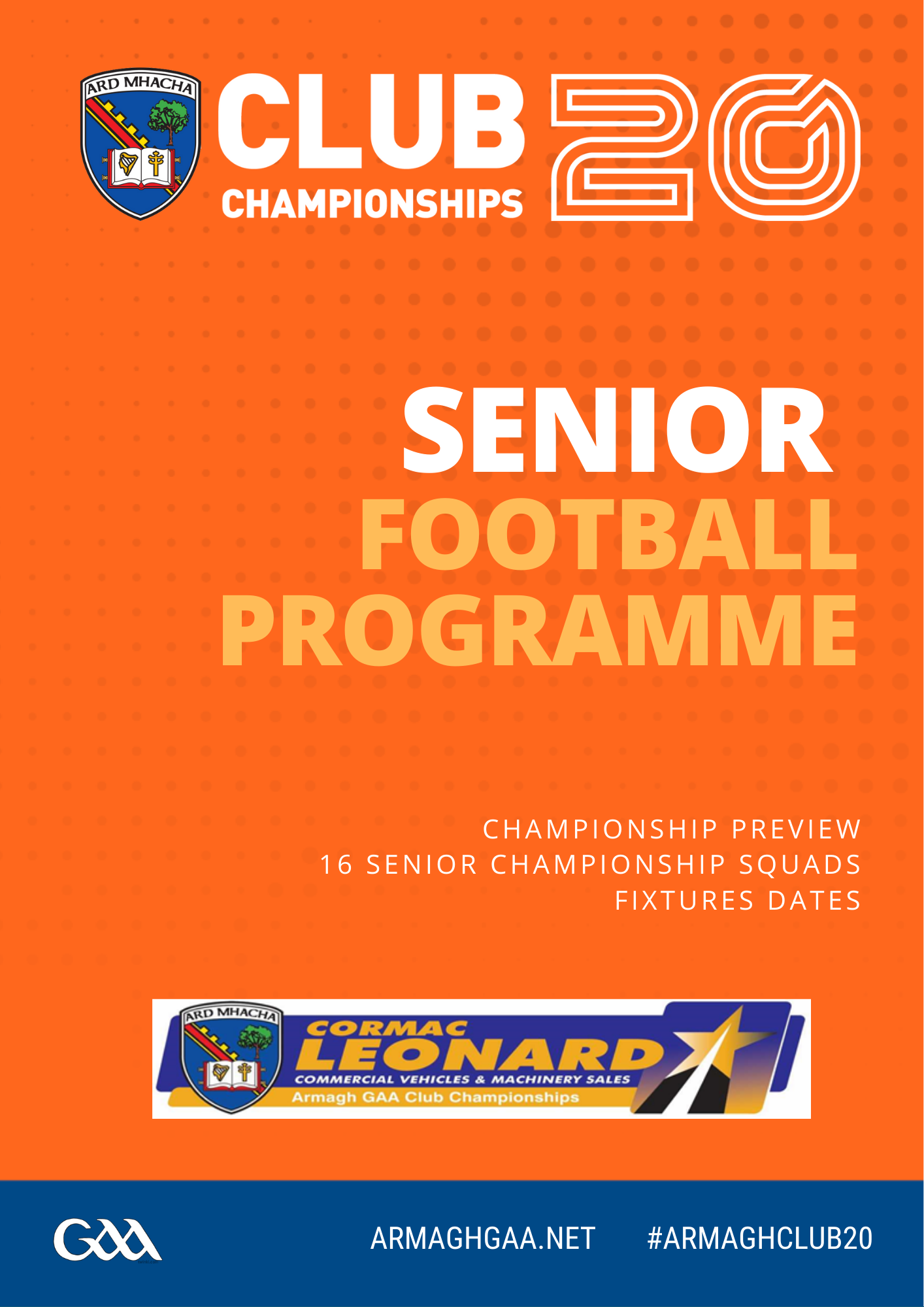 Link to Digital Programme: Armagh Club Senior Football Championship post