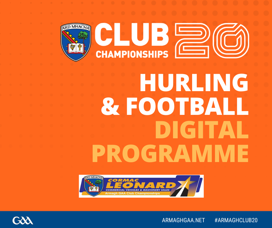 Digital Programme: Hurling Championship & Senior Football Semi Final