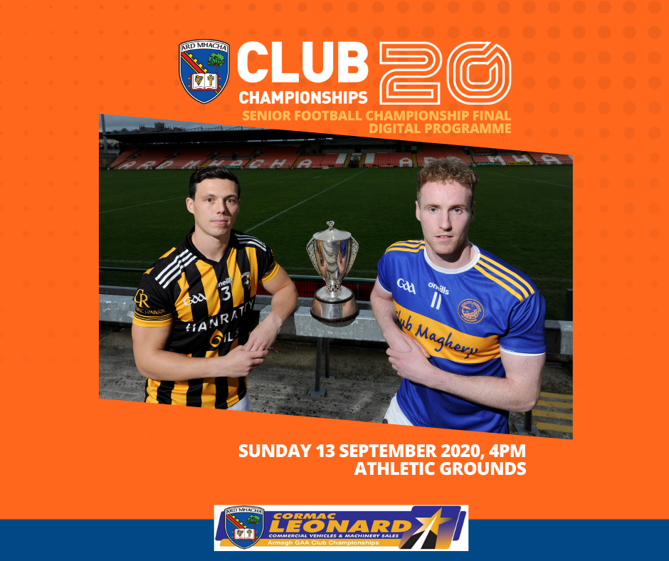 Senior County Football Final: Digital Programme