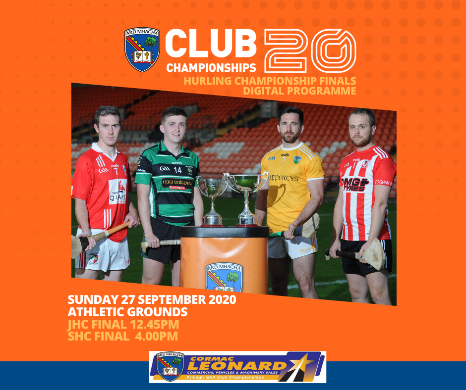 Digital Programme: Club Hurling Championship Finals