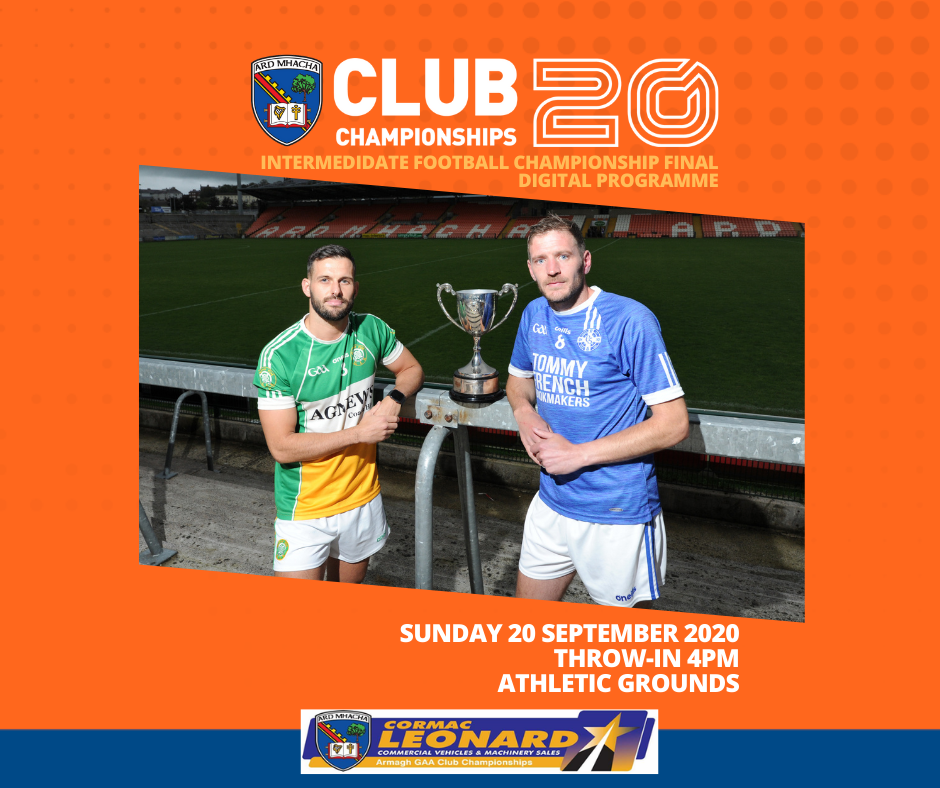 Digital Programme: Intermediate Football Championship Final