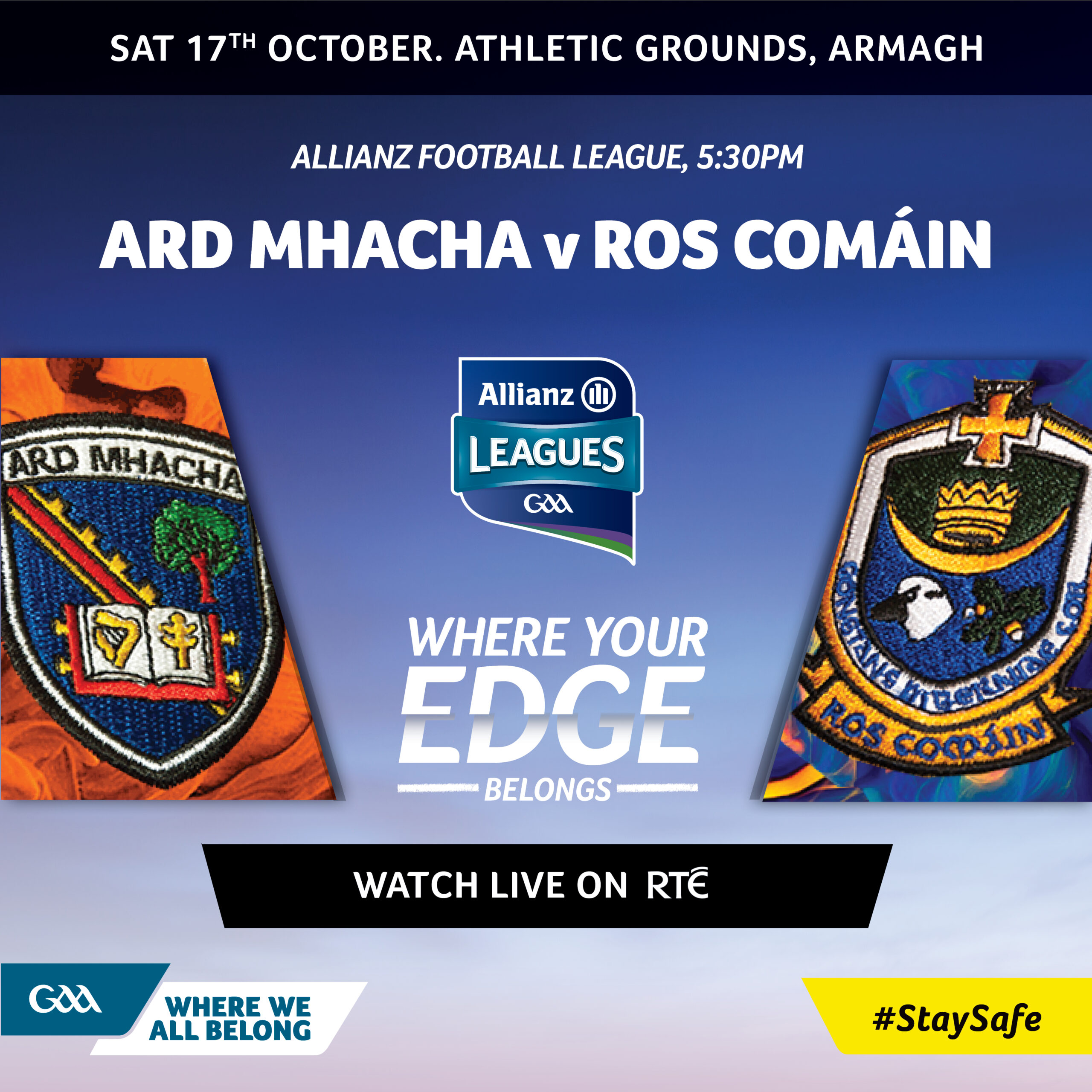 Allianz football league resumes this weekend…