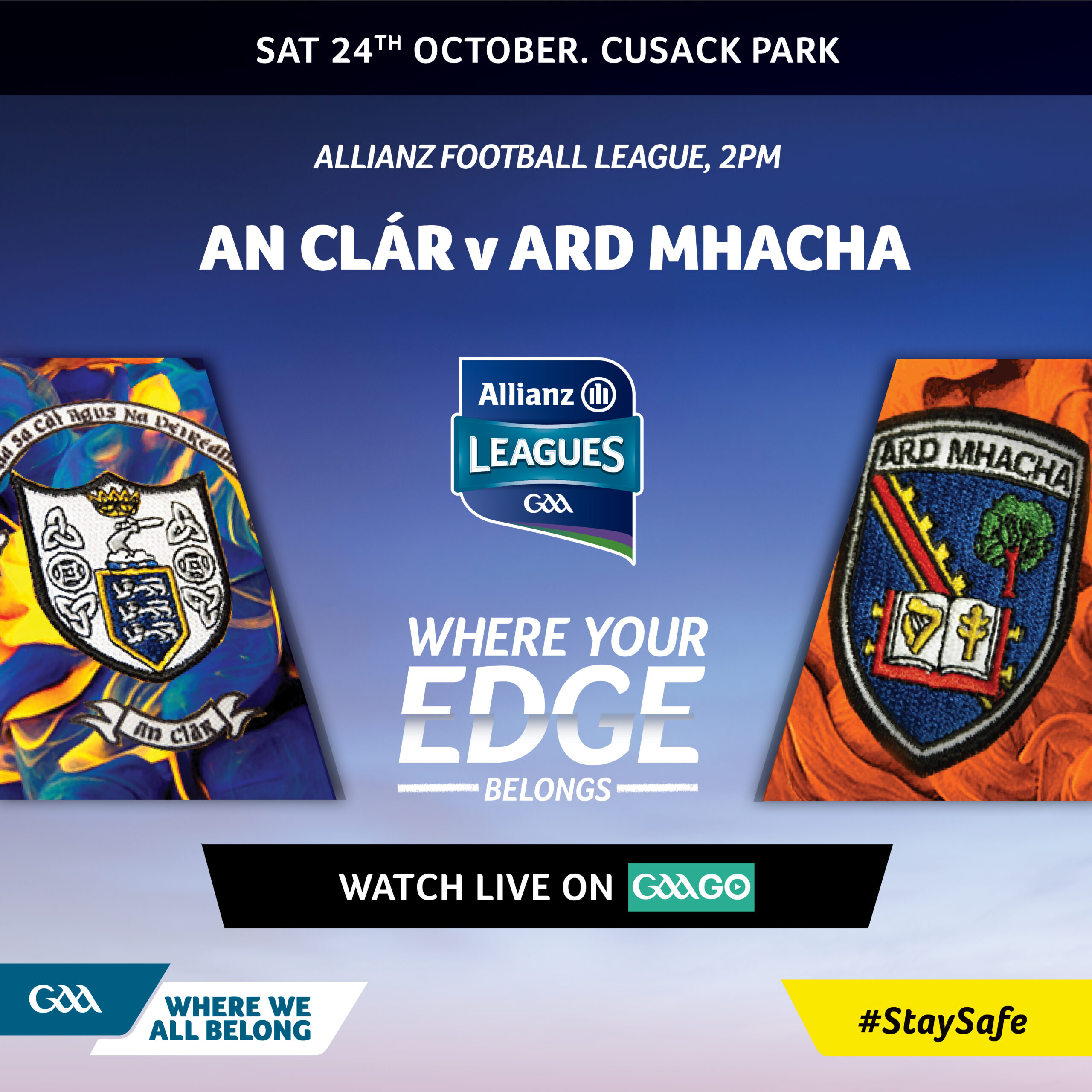 Allianz League: Armagh v Clare