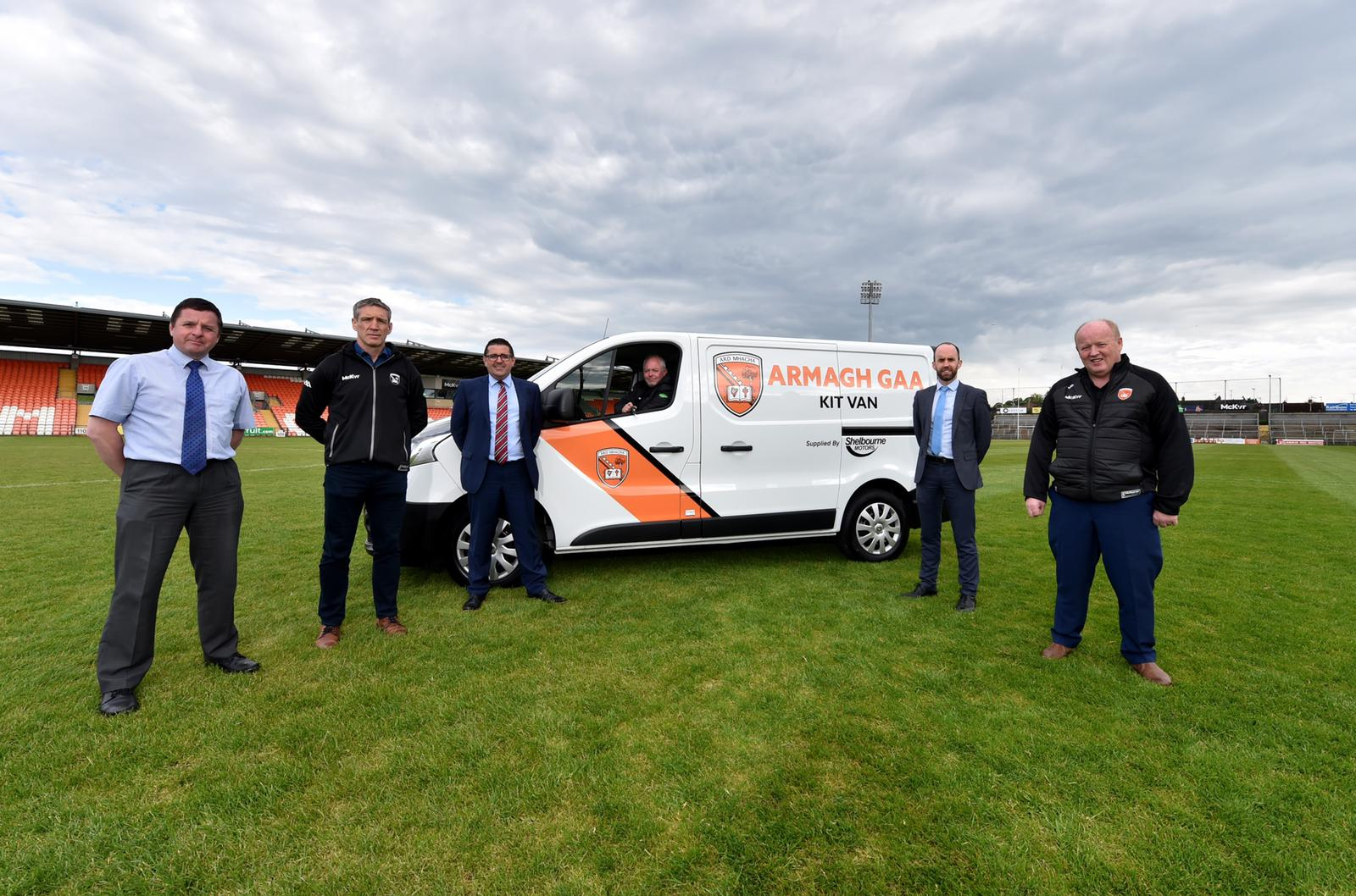 Shelbourne Motors sponsors new kit van for Armagh GAA