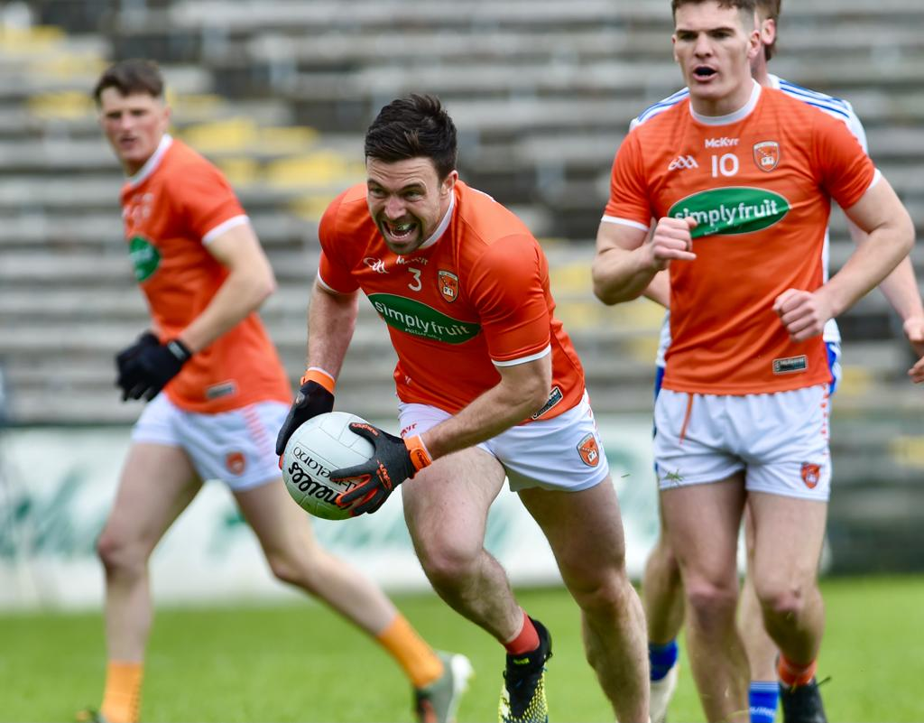 Armagh mark return to the top flight with a victory over Monaghan