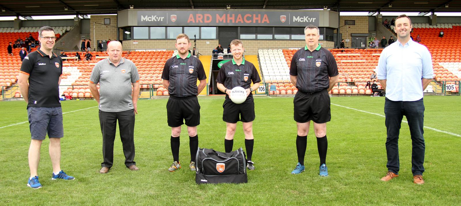 New kit launched for Armagh GAA referees