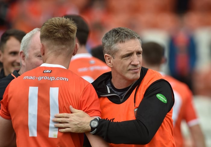 NEWS: Kieran McGeeney ratified as Armagh senior inter-county manager for 2022