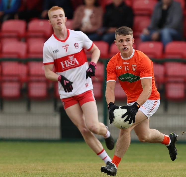 Armagh minors defeat Derry to book a semi final spot