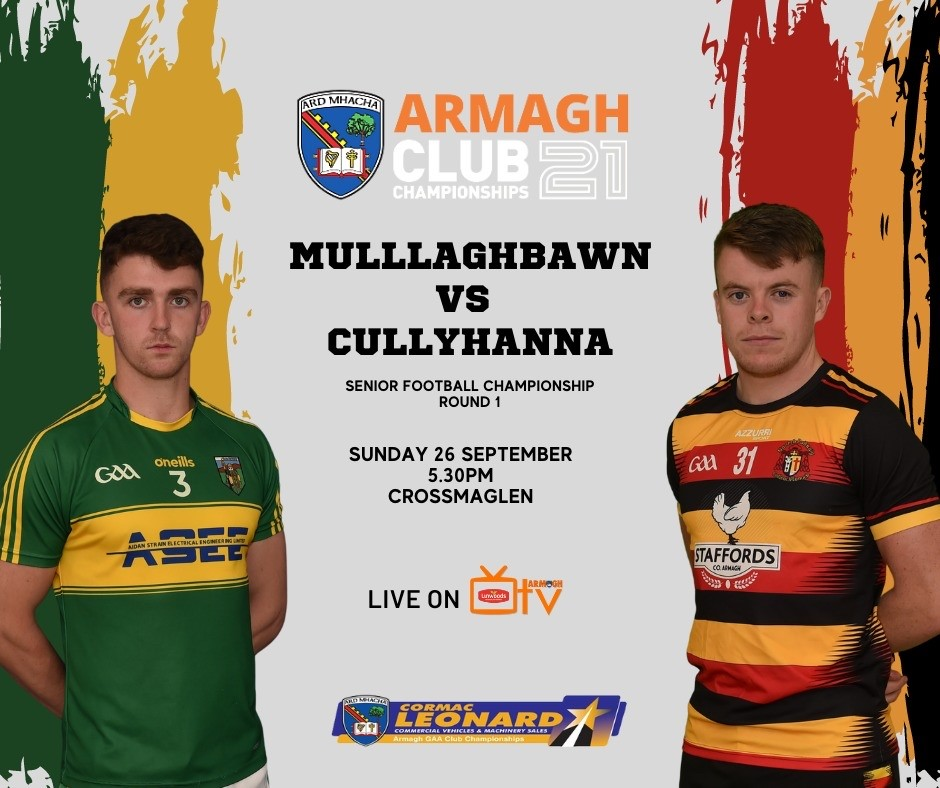 Link to Armagh TV – Mullaghbawn v Cullyhanna – SFC – 26th Sept post