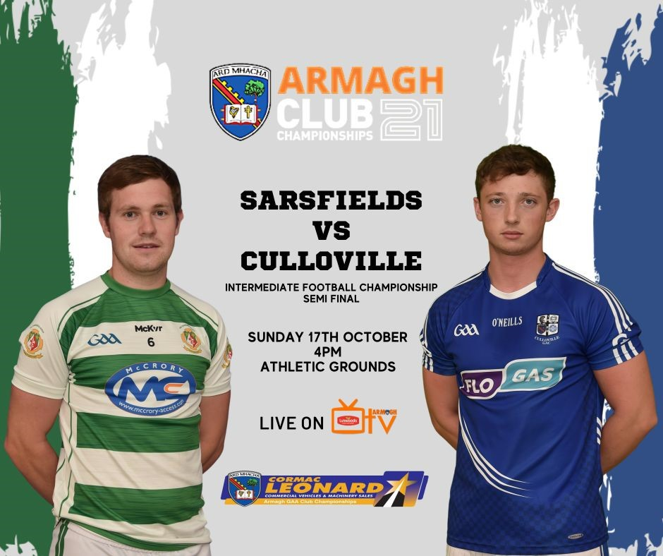Armagh TV – Sarsfields v Culloville – IFC – 17th Oct